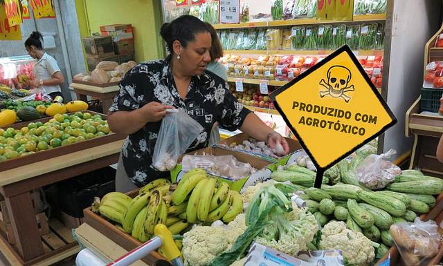 liberação de agrotóxicos